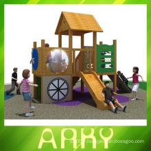 La meilleure qualité de petits terrains de jeux en bois à vendre