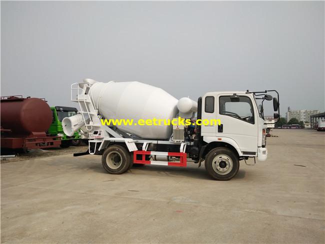 6 CBM Concrete Transit Mixer Trucks