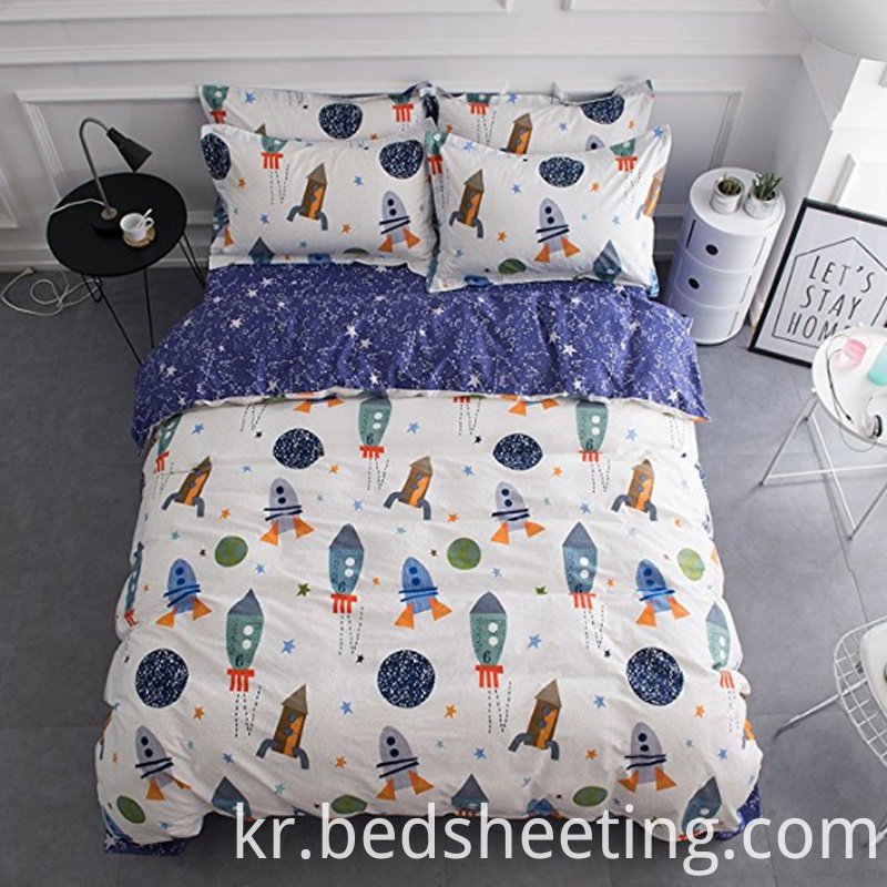 Organic Cotton Kids Quilt Cover