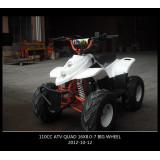 Automatic 4 Stroke ATV Quad 2014 Hottest 7inch 110cc ATV Quads (ET-ATV006)