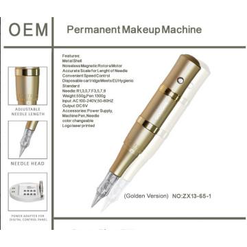 Machine de maquillage permanente de pièces d'arme Custom