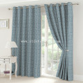 2017 Top sell 100% poliestere Lino Touching Window Curtain
