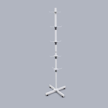 New Arrival White Floor Metal Slipper Display Stand