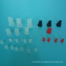 Dispositivos médicos moldeados FKM EPDM Br NBR Válvula de caucho de silicona
