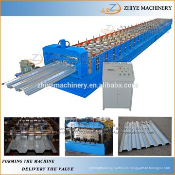 Cubierta de tejado de acero que forma la máquina / piso que cubre el rodillo frío que forma la maquinaria