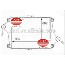 China fabricante intercooler de aluminio de la fuente para el intercooler del carro de RENAULT 5000749470 NISSENS: RE4019