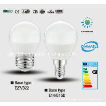 Затемняемый светодиодные лампочки G45-Sbl