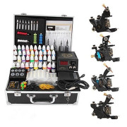 Professional 4 Gusseisen Tattoo Gun Kit