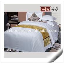 3cm Streifen-Gewebe-Baumwollqualitäts-preiswerter Großhandelskrankenhaus-Bettwäsche