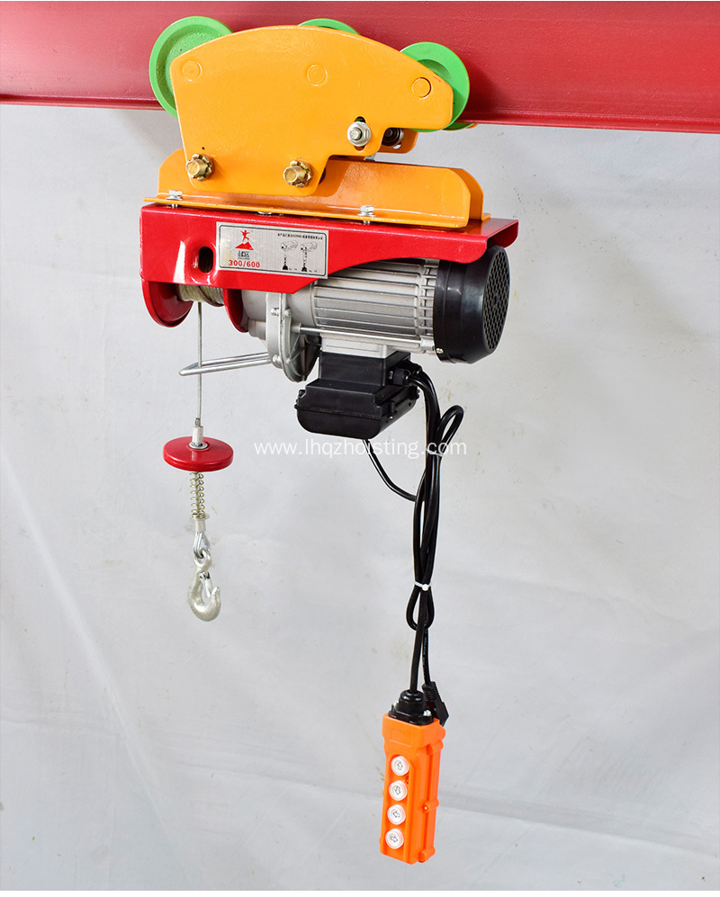 200kg to 1200kg Micro Wire Rope Pulling Hoist China Manufacturer