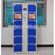 Casier électrique 12 portes à empreinte digitale