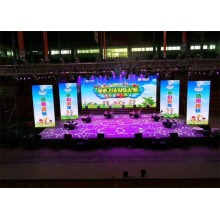 Lichtgewicht Indoor Stage Verhuur LED Display