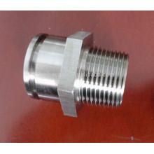 steel pipe fitting 6000# hexagon nipple