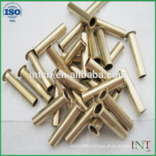 high quality fastener rivet large quantity supply brass hollow tubular rivets