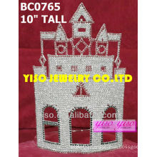 castle rhinestone tiaras