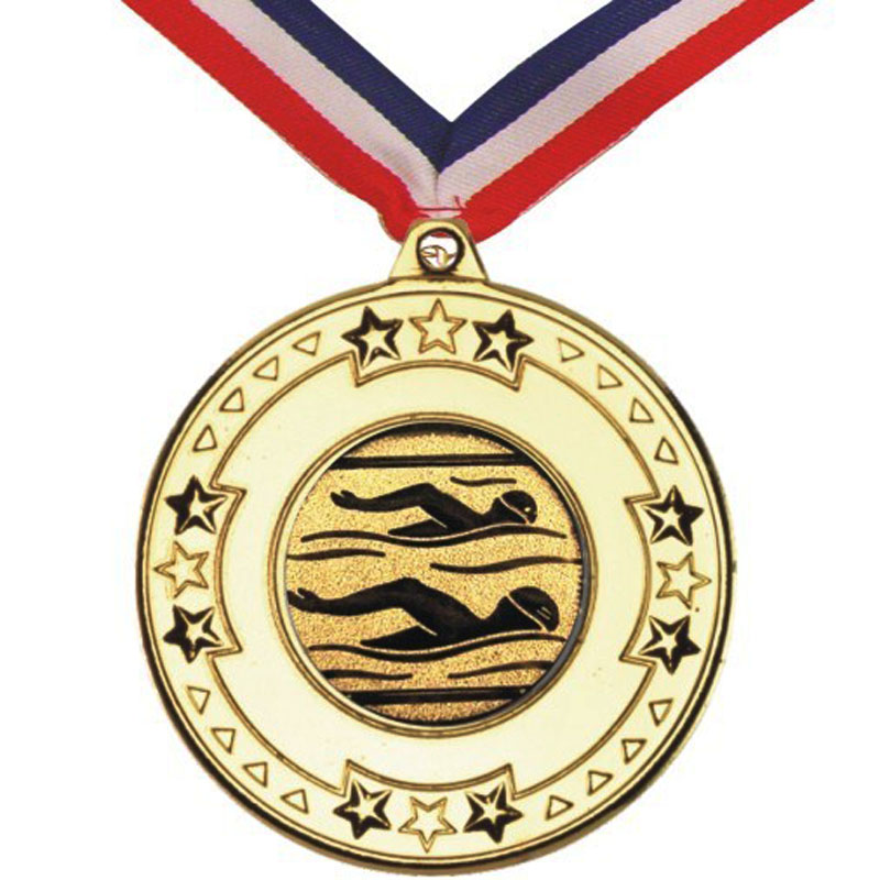 Bright Star Swimming Medal