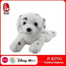 Bichos de pelúcia feitos sob encomenda do brinquedo do cão do ponto do luxuoso