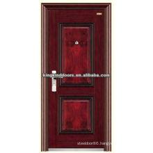 Popular In Nigeria Residential Steel Security Door KKD-517 For Front Door Design