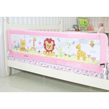 Aluminum 150cm Portable Baby Bed Rails For Bunk Beds With Woven Net