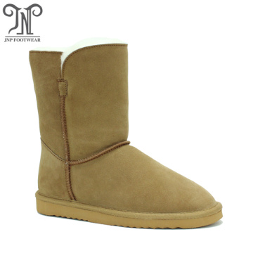 Top Quality for Womens Winter Boots Fashionable warmest winter outdoor cow suede Leather boots supply to British Indian Ocean Territory Exporter