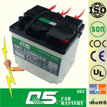 DIN50 12V50AH, Dry Charged Auto Car Battery Q5 Power