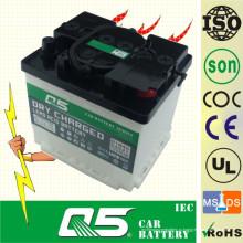 DIN35 12V35AH Профессионально производимая свинцово-кислотная сухая заряженная автомобильная батарея для запуска