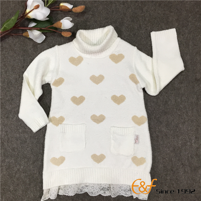Long-style Sweater for Children
