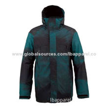 Men's Stretch Jacket with Water-resistant Chest Zippers