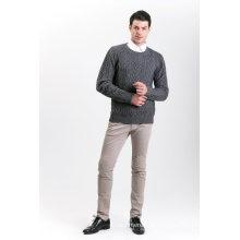 Camisola de Mistura de Cashmere para Moda Masculina 18brawm008