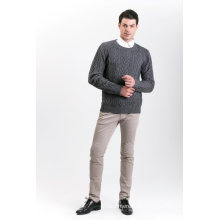 Мужская мода кашемир смесь свитер 18brawm008