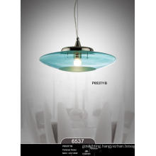 High Quality Glass Shade Practical Modern Pendant Lamp (P6537-1B)
