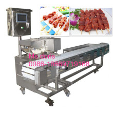 Machine de brochette de Satay d'Automatc, machine de brochette de BBQ