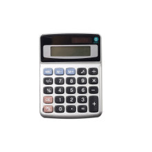 8 Digits Office Desk Calculator with Dual Power