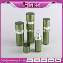 Green Cone Shape Cosmetic Packaging Set And Atomizer Bottles Biodegradable Wholesale Bottles Lotion