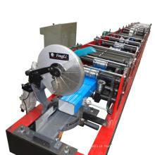 Máquina de moldagem de rolo Downspout de aço