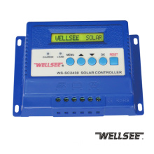 Wellsee solar regulator 30A WS-SC2430 three -stage solar charge and discharge controller