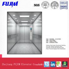 Handrail Flat Stainless Steel Stretcher Elevator