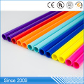 Colorful Plastic PVC Pipe For Furnitures Assembly