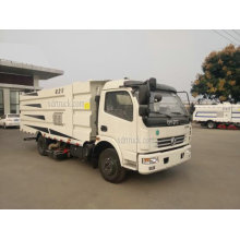 4CBM Dongfeng Euro4 Dust Suction Road Sweeper Truck
