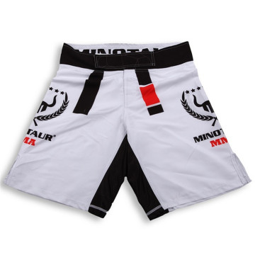 High-end lycra spandex blank mma fight shorts