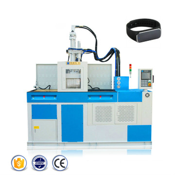 Efisiensi Tinggi Vertikal Double Slide Injection Machine
