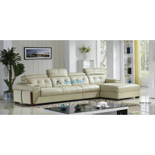 Europe Top Grain Genuine Leather Sofa (A25)