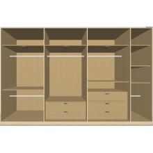 American Style Wardrobe Walk-in Closet Cupboard