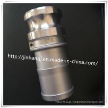 Conector rápido tipo E de aço inoxidável