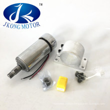 Small Spindle Motor 300W with Bracket and Collet