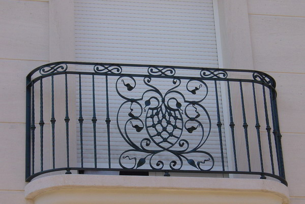 decoration wrought iron rosettes