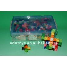 Link Cube Niños Bloques de construcción de plástico