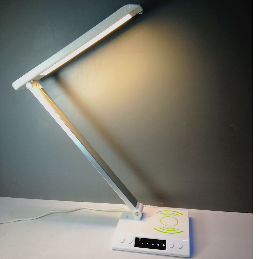 wireless charger led desk lamp for iphone x