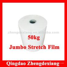 Film étirable Jumbo Roll utilisé pour le rembobinage - 50kg