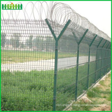 Aéroport Peach type column fBilateral guardrail fence netting
